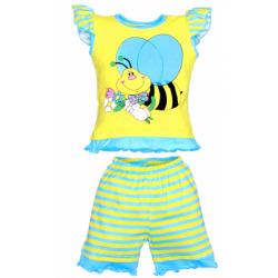 """11-142216 """"Пчелка"""" комплект для девочек, 1-4 года"""