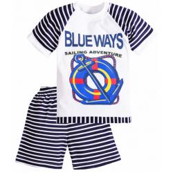 """11-372152 """"Blue Ways"""" комплект для мальчиков, 3-7 лет, черный"""