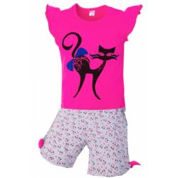 """5852-70 """"CAT"""" комплект для девочек, 5-8 лет, розовый"""