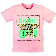 """11-9120204 """"SHAKE"""" футболка для девочек 9-12 лет, розовый"""
